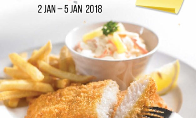 Swensen's 1 For 1 Mains at All Outlets 2 – 5 Jan 2018
