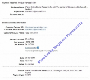 Ipanel Payment 14 26 March 2014
