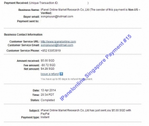 Ipanel Payment 15 13 April 2014
